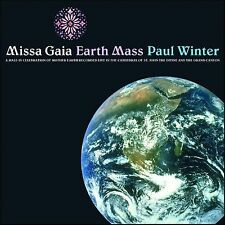Missa Gaia/Earth Mass by Paul Winter (CD, 1982, Living Music) Like New