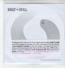 (BO708) Built to Spill, Conventional Wisdom - 2007 DJ CD