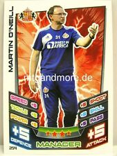 Match Attax 2012/13 Premier League - #254 Martin O'Neill - Sunderland