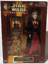 STAR WARS : ULTIMATE HAIR QUEEN AMIDALA ACTION FIGURE (SK)