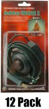 (12) 09493 9' ft Green Christmas Tree Foot Tap Extension Cords