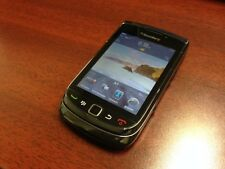 BlackBerry Torch 9800- Black - (Unlocked)  Good Condition Smartphone