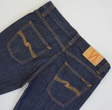 NUDIE Jeans LOW SLIM JIM Men's 31x34, Authentic VERY GOOD CONDITION