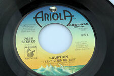 Eruption: I Can't Stand the Rain / Be Yourself  [Unplayed Copy]