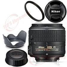 Nikon 18-55mm NIKKOR Zoom Lens f/3.5-5.6G VR II AF-S DX UV Bundle BRAND NEW