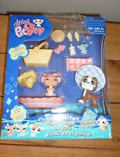 LPS Littlest Pet Shop  Great Dane & Mouse Picnic in the Park BNIB rare uk seller