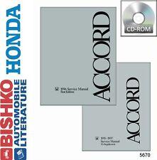 1996 Honda Accord Shop Service Repair Manual CD Engine Drivetrain Electrical OEM