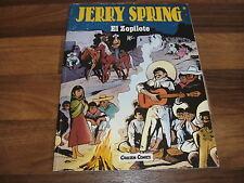 Jije -- jerry Spring # 8 // el zopilote // carlsen 1. edición 1990