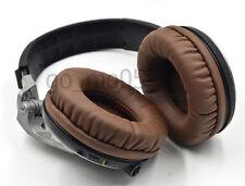 Brown Ear pads cushion earpads for Pioneer hdj1000 hdj2000 mk2 hdj1500 headphone