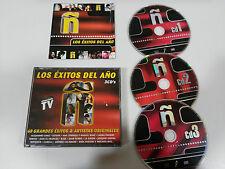 Ñ LOS EXITOS DEL AÑO 3 X CD MIGUEL BOSE ALEJANDRO SANZ NEK SABINA ECDL LA UNION