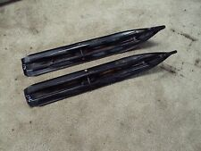 1994 SKI DOO PLASTIC SKIS 503 METAL CARBIDE RUNNER BLACK SUMMIT MXZ X ROTAX 583