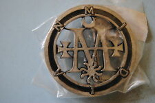 CRADLE OF FILTH MIDIAN SEAL BELT BUCKLE NEW OFFICIAL COF THORNOGRAPHY METAL
