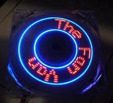 "Cooljag 80mm x 25mm Programmable LED Case Fan ""Make Your Own Phrases!"""