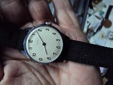 "Vintage 1966 Men's Timex ""Bauhaus Style"" Wind Up Watch - Truly Rare"