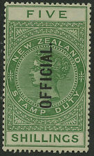 New Zealand   1913   Scott # O39   Mint Hinged