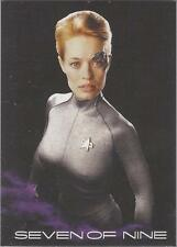"Star Trek Voyager H&V - BB10 ""Seven of Nine"" Black Gallery Rewards Card"