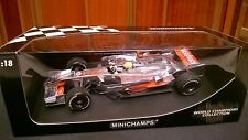 Mclaren Mp4 23 F1 2008 Lewis Hamilton MINICHAMPS 1 18 World Champion