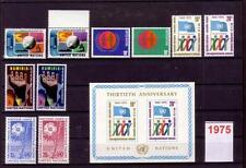 UN New York Jahrgang 1975 ** postfrisch (kn16_105)
