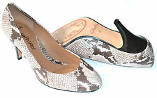 Clarks Clifton Bridge Natural Snake Leather Ladies Shoes/Heels 6/39.5 D RRP £70