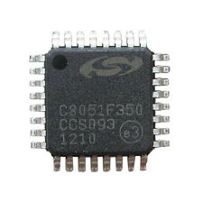 1Pcs C8051F350 LQFP-32/ 8 kB Flash/ 24-Bit ADC/ 32-Pin Mixed-Signal MCU chip