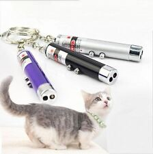 Funny Cat Dog Pet Toys LED Laser Pointer Light Pen Bright Point Animation