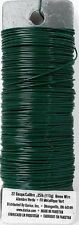 Paddle Wire 22 Gauge Green Floral Flower Craft  Flexible Wire 110 Feet