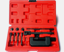 Bike Chain Breaker Motorcycle Splitter Link Riveter Riveting Repair Set Tool Kit