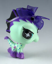 Littlest Pet Shop Punkiest Iguana No Number Aqua and Purple Special Edition