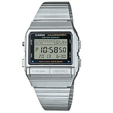 Casio DB-380-1 Classic Silver Telememo Unisex Digital Watch