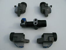 1958-'61 Austin A40 Farina MK1, Wheel cylinders x 4, & rear Frame cylinder, NEW