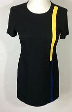 Womens VTG Positive Attitude Dress | 90's Style Color Block Casual Sheath Size 4
