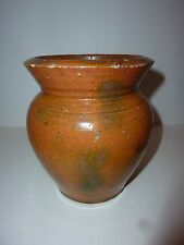 Earthenware Storage Pot North Carolina, circa 1920 /24 pre jugtown  seagrove.