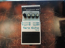 BOSS TE-2 TERA ECHO EFFECTS PEDAL DELAY AWESOME TONE!!