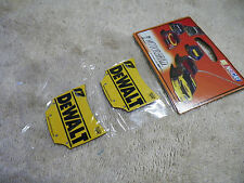 NASCAR Car Hood Replica Magnets Dewalt Matt Kenseth MOTORHEAD  #17 NIP 2 pkg