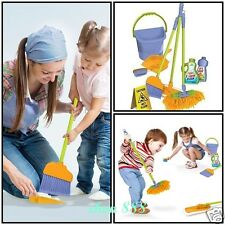 Kids Cleaning Toy Toddlers Kids Housekeeping Broom Pretend Play Tools Imaginary