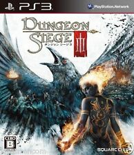 Used PS3 Dungeon Siege 3 SONY PLAYSTATION 3 JAPAN JAPANESE IMPORT