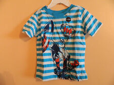 NWT Baby GAP toddler short sleeve Capt. America comic book style T-shirt 2T