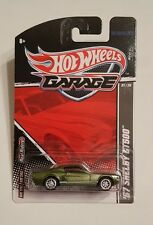 Hot Wheels '67 Shelby GT500 Garage Series #T8303 New in Pack 2010 Green 8+ 1:64