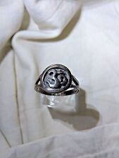 STUNNING Marid DJINN STERL SILVER RING Witch Talisman Amulet Wicca Spells Witch