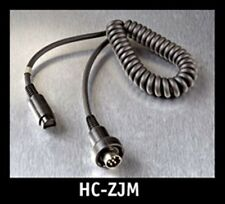 J&M HC-ZJM Z-SERIES HEADSET CORD FOR 6 PIN AUDIO SYSTEM