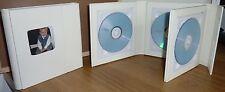 Deluxe Marfil Quad Imitación Cuero Funda Ideal Para Bodas los discos DVD y más