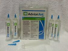 4 Tubes 4 Plungers Advion Ant Bait Gel Control Argentine Pharaoh Ghost Black etc