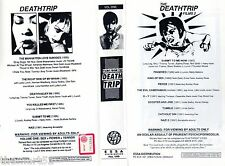 FILMS from the Deathtrip (1993) - 2  VHS Essa Video  Ed. inglese - Richard HERN