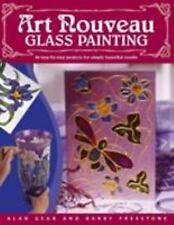 ART NOUVEAU GLASS PAINTING 20 Step by Step Projects by Alan Gear BRAND NEW