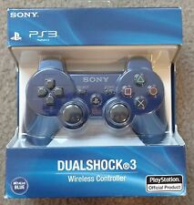 NEW Sony PS3 Dualshock3 Wireless Controller (Blue)