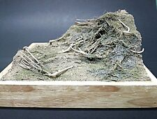 Diorama base ready made unpainted with full ground accessory. 1/35 scale TND-036