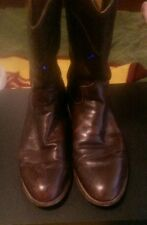 JUSTIN Mens Style 3162 Western Boots Sz 8 1/2 D