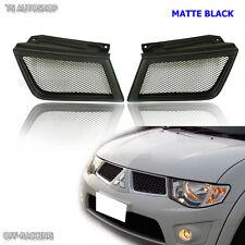 Black Front Net Grill Fit Mitsubishi Triton L200 Ml Warrior Ralliart 2005-2009