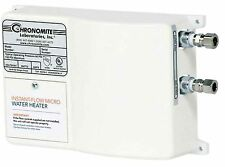 Chronomite M-40/240 Instant-Flow Micro Tankless Electric Hot Water Heater 104F