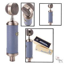 Blue Bluebird Condenser Microphone Studio Mic + Case Vocal Instrument